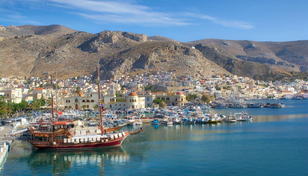 Kalymnos island near Kos