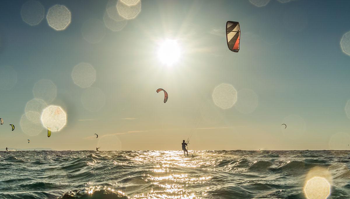 Kite surfing, Kos island
