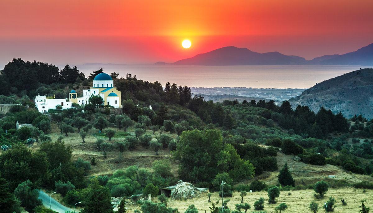 Sunset - Kos island, Dodecanese