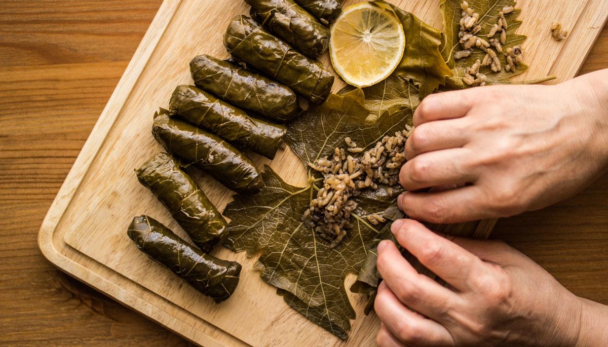 Greek cuisine class